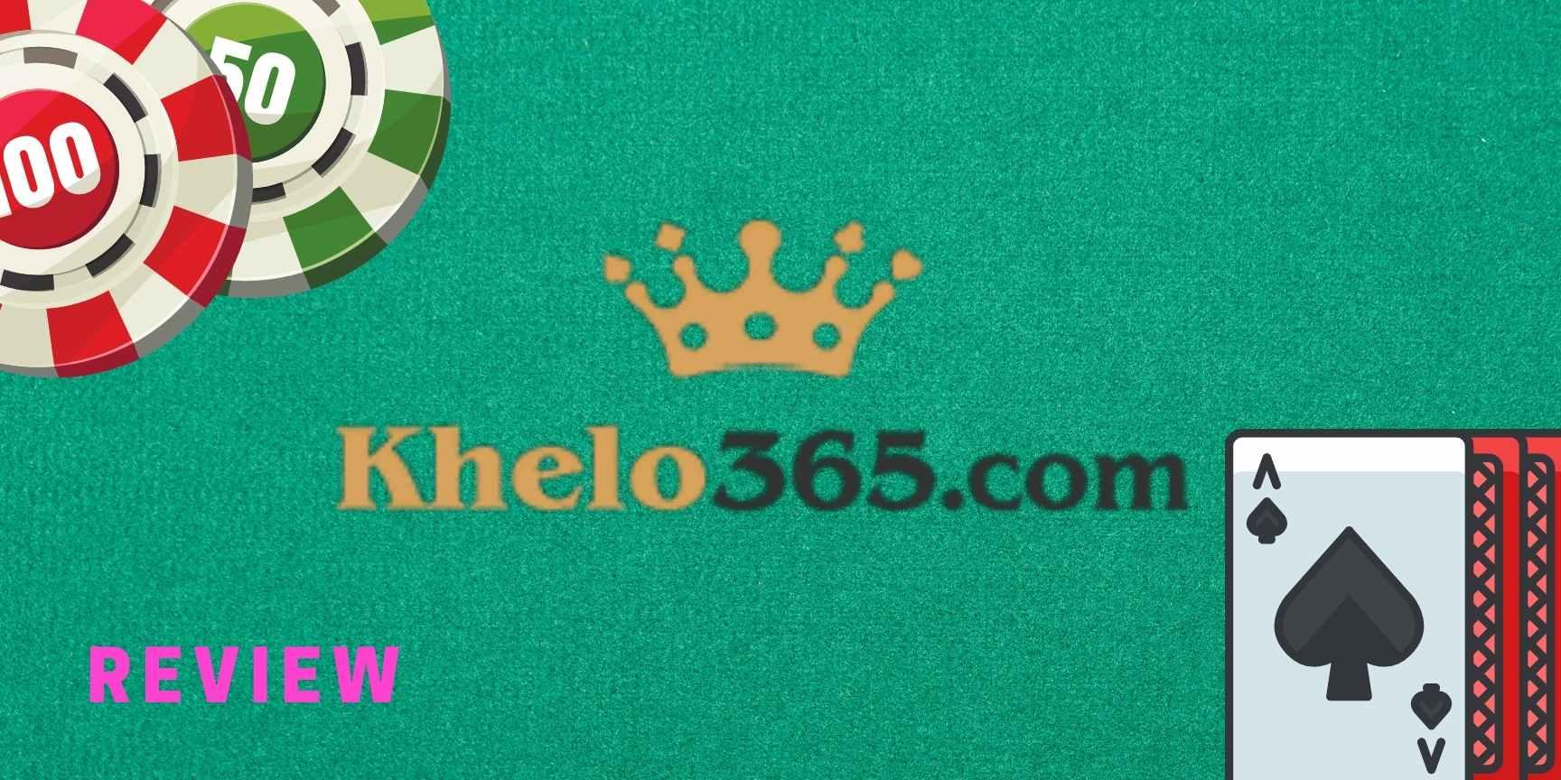 Review of the online poker platform Khelo365